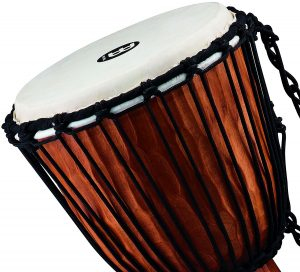 Choosing a Djembe Drum - Meinl Rope Tuned Djembe