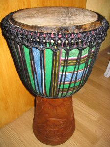 Traditional Djembe Skin