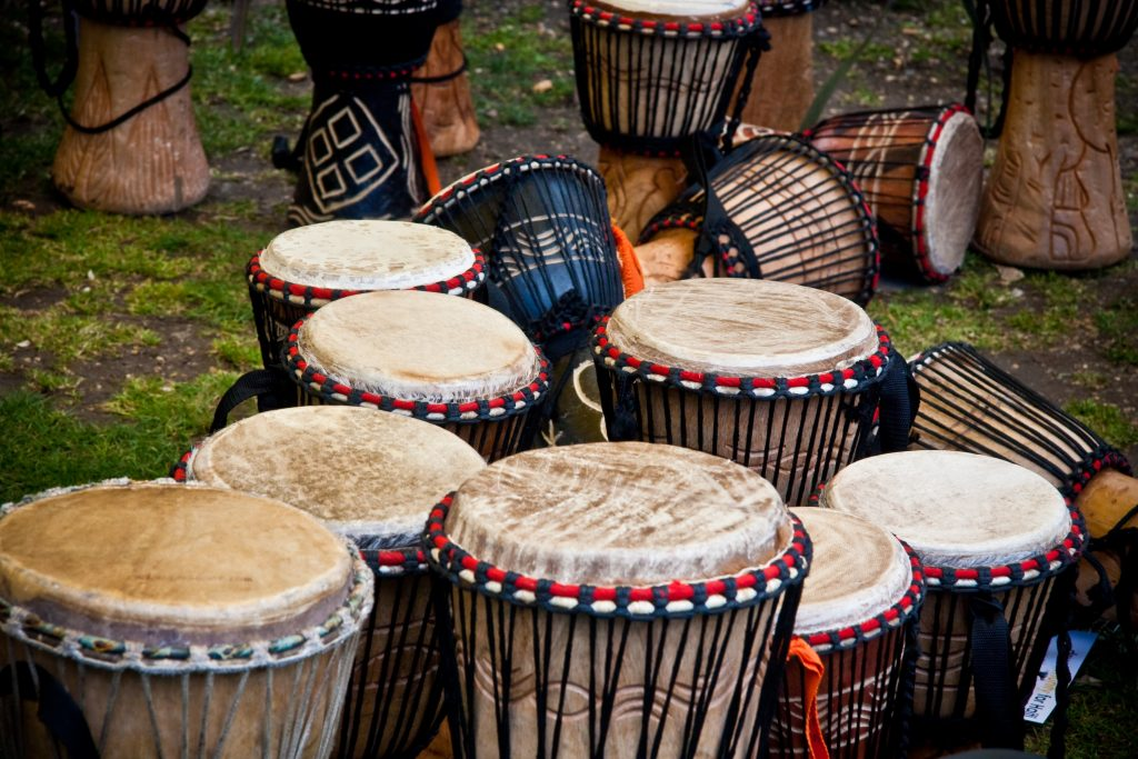 Choosing a Djembe - Multiple Djembes