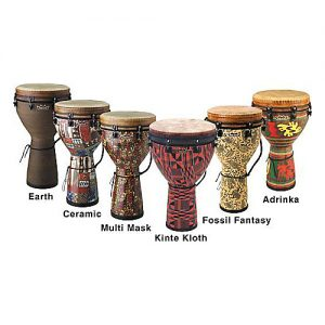 Remo Mondo Synthetic Djembe Line-up